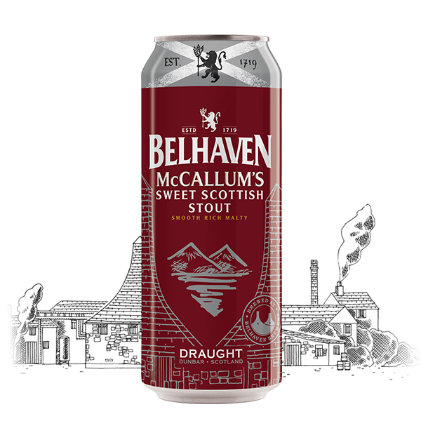 Belhaven McCallum's Sweet Scottish Stout