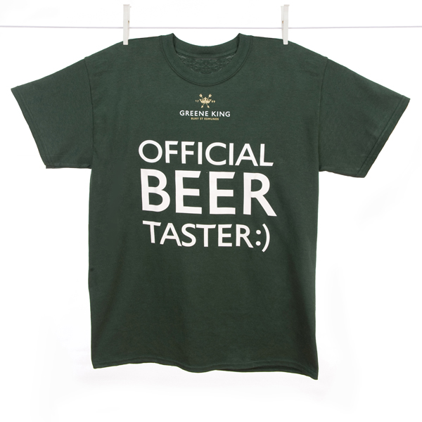 Variation #394 of Beer Taster T Shirt – Green