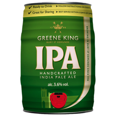 Greene King IPA Mini Keg