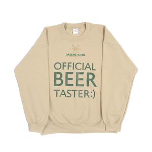 Beer Taster Sweatshirt - Stone - Small