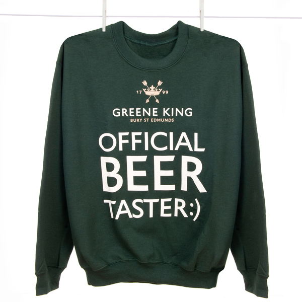 Beer Taster Sweatshirt - Green - Large