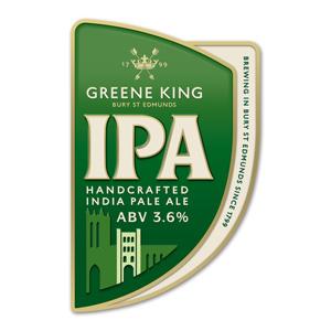 Firkin Greene King IPA