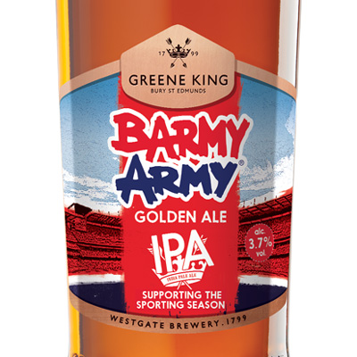 Barmy Army Golden IPA