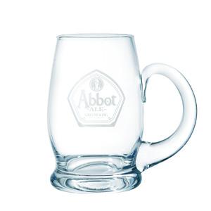 Abbot Ale Pint Glass Tankard